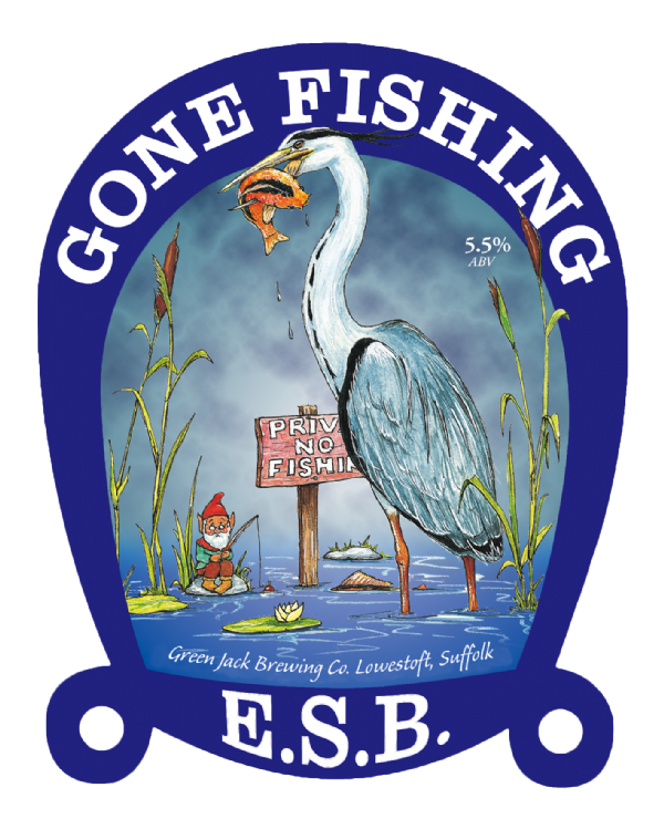Gone Fishing E.S.B. 5.5% 36 Pints